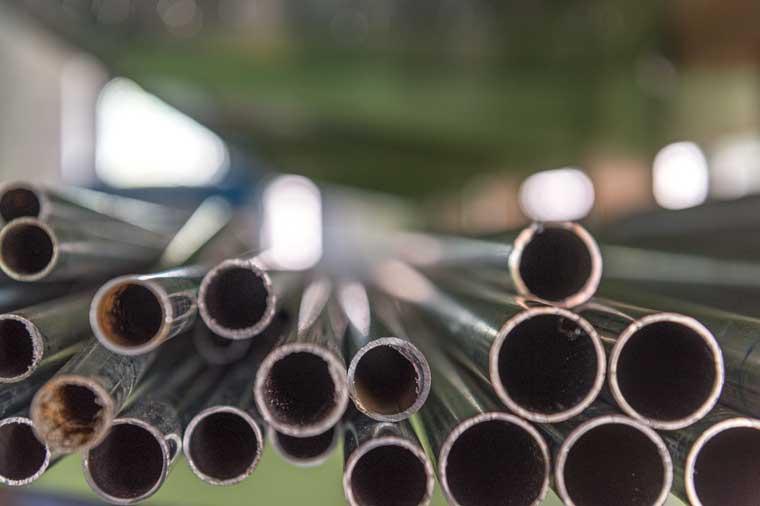 Gloor Gebäudetechnik – Rotgussrohre für Wasserleitungen