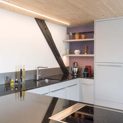 Gloor Gebäudetechnik – Moderne Küche