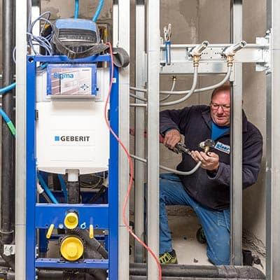 Offene Stelle als Sanitärinstallateur EFZ w-m 100%